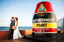 Nautical Beach Wedding Ocean Key Resort & Spa In