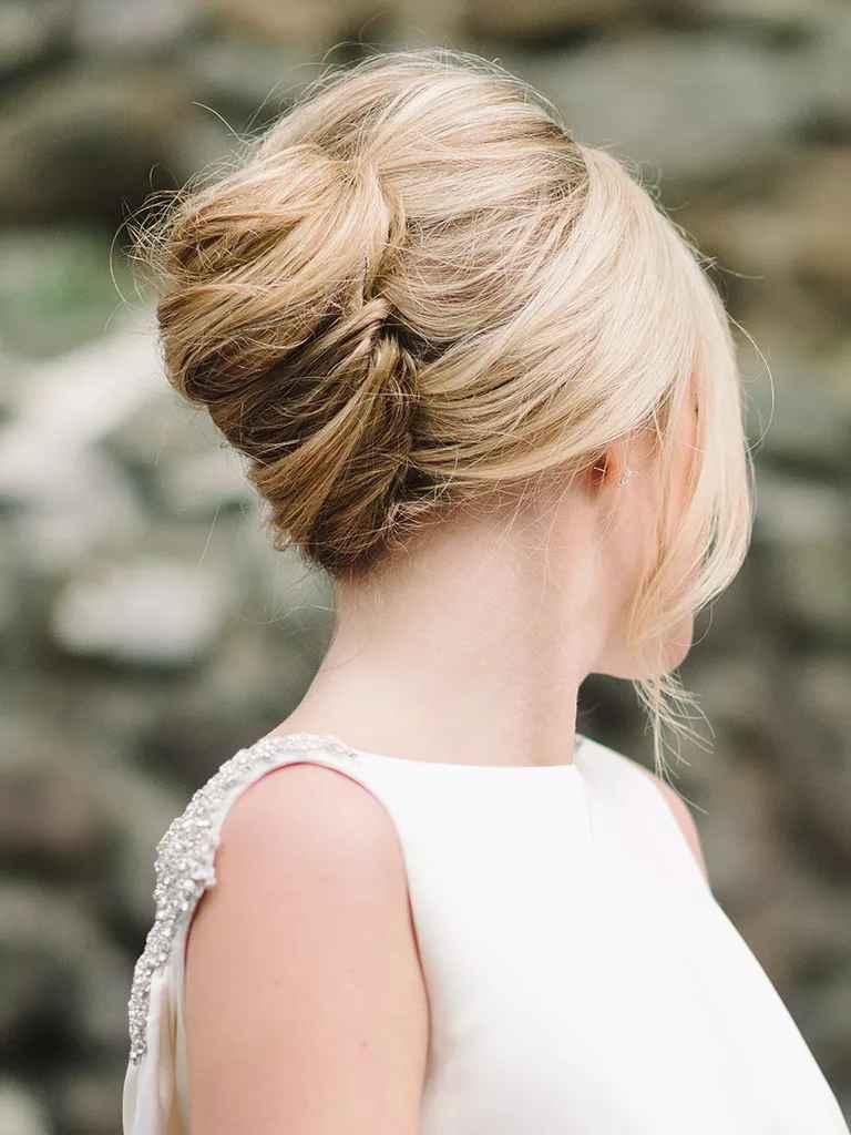 romantic updo ideas bridesmaids