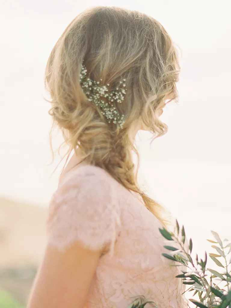 boho bridesmaid hairstyles