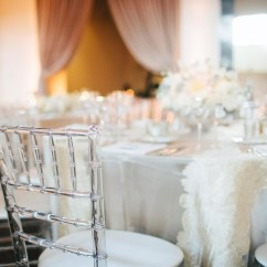 Clear Chiavari Chairs Big And Tall Outdoor 500lbs With White Linens