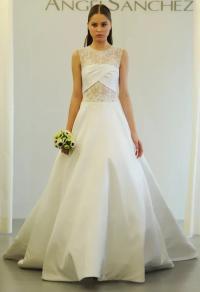Angel Sanchez Wedding Dresses 2015 Showcase Cut Outs and ...