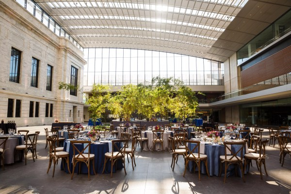 Cleveland Art Museum Wedding Atrium