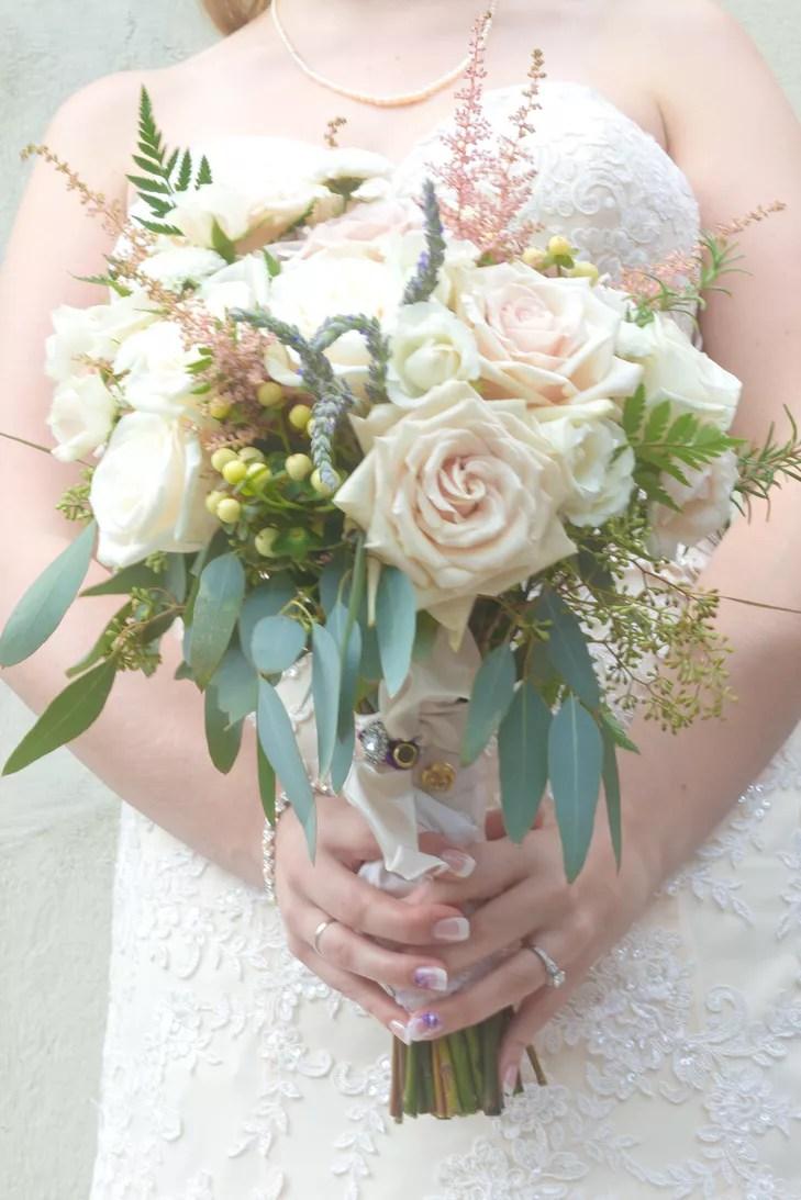 Sahara Rose and Vendela Rose Bridal Bouquet