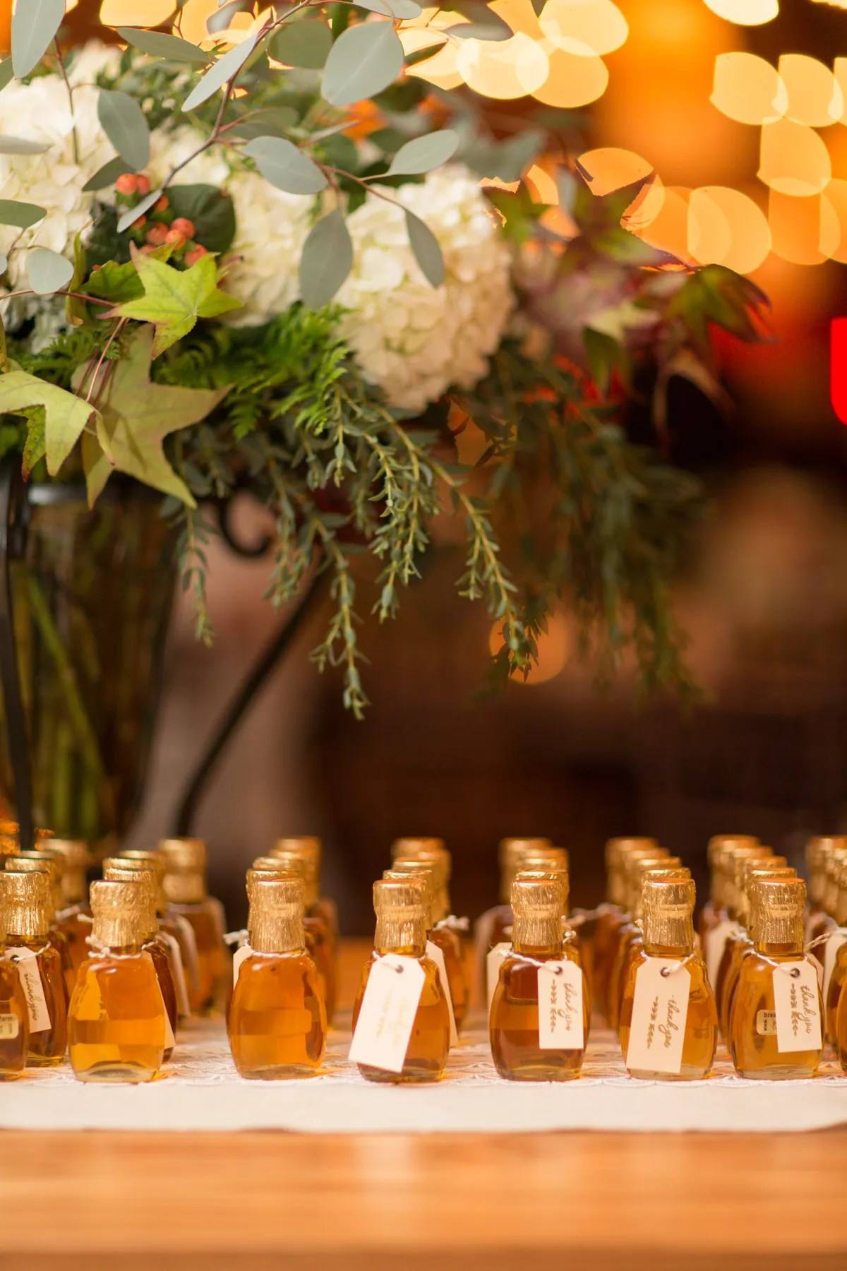 Fall Wedding Favor Ideas