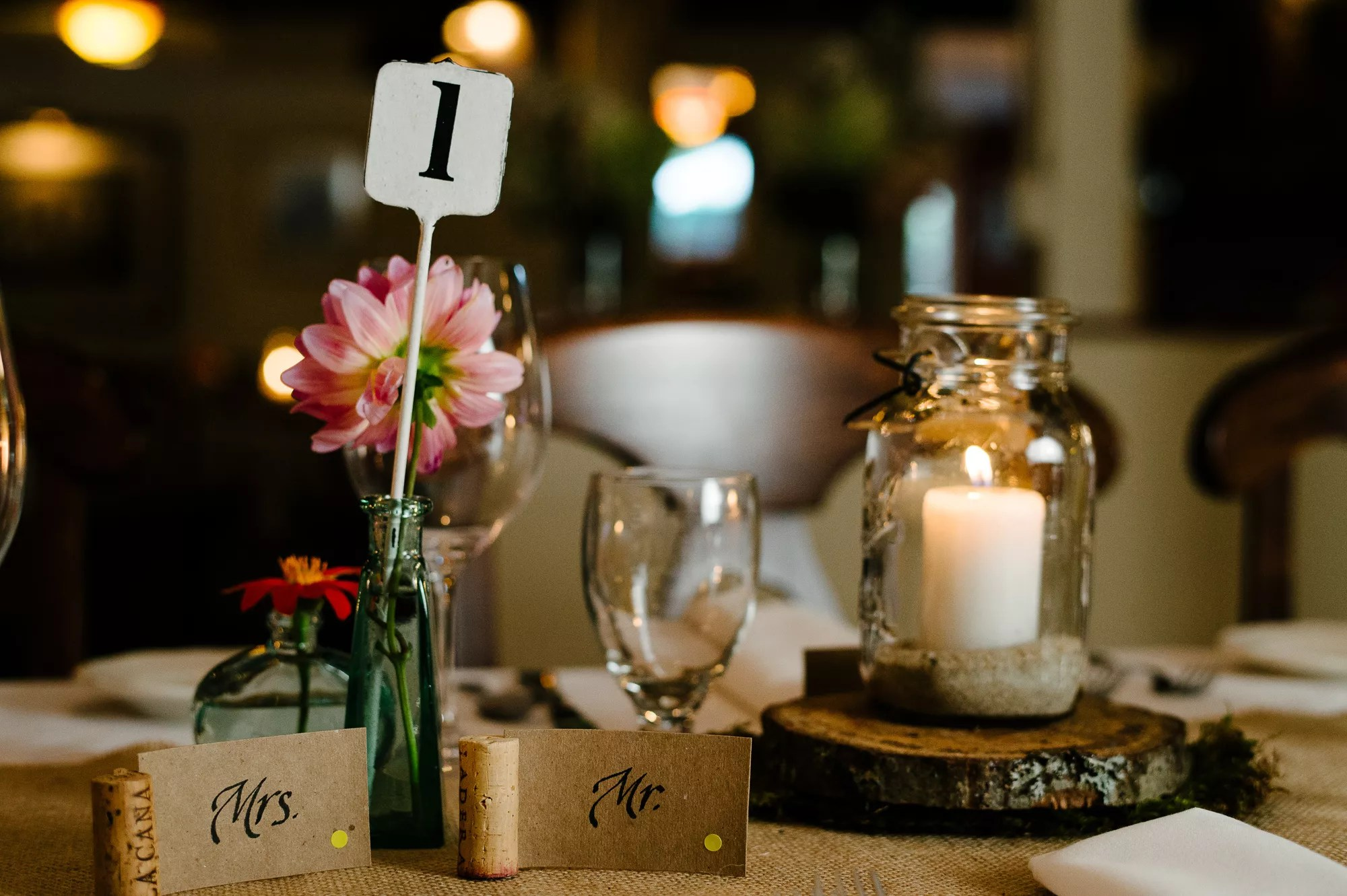 DIY Wine Cork Place Cards