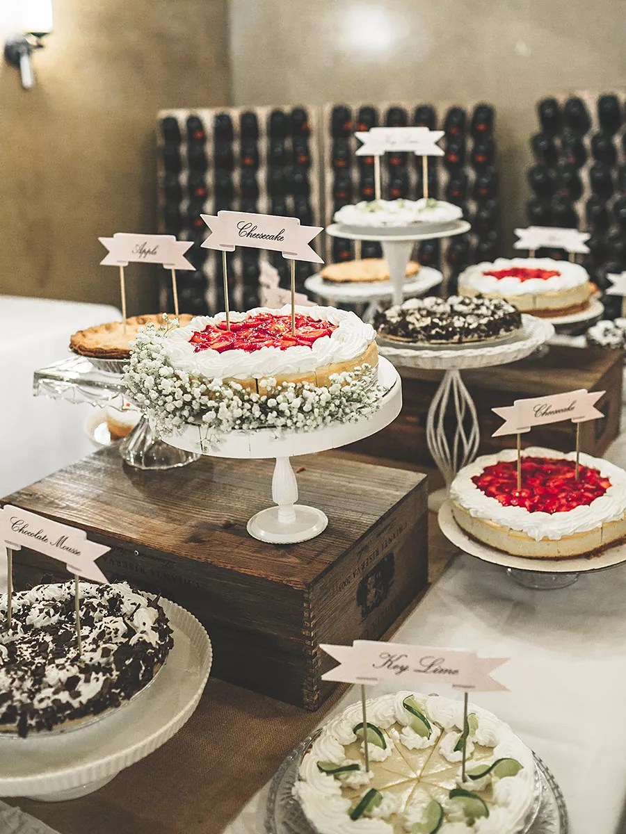 Wedding Dessert Buffet Ideas
