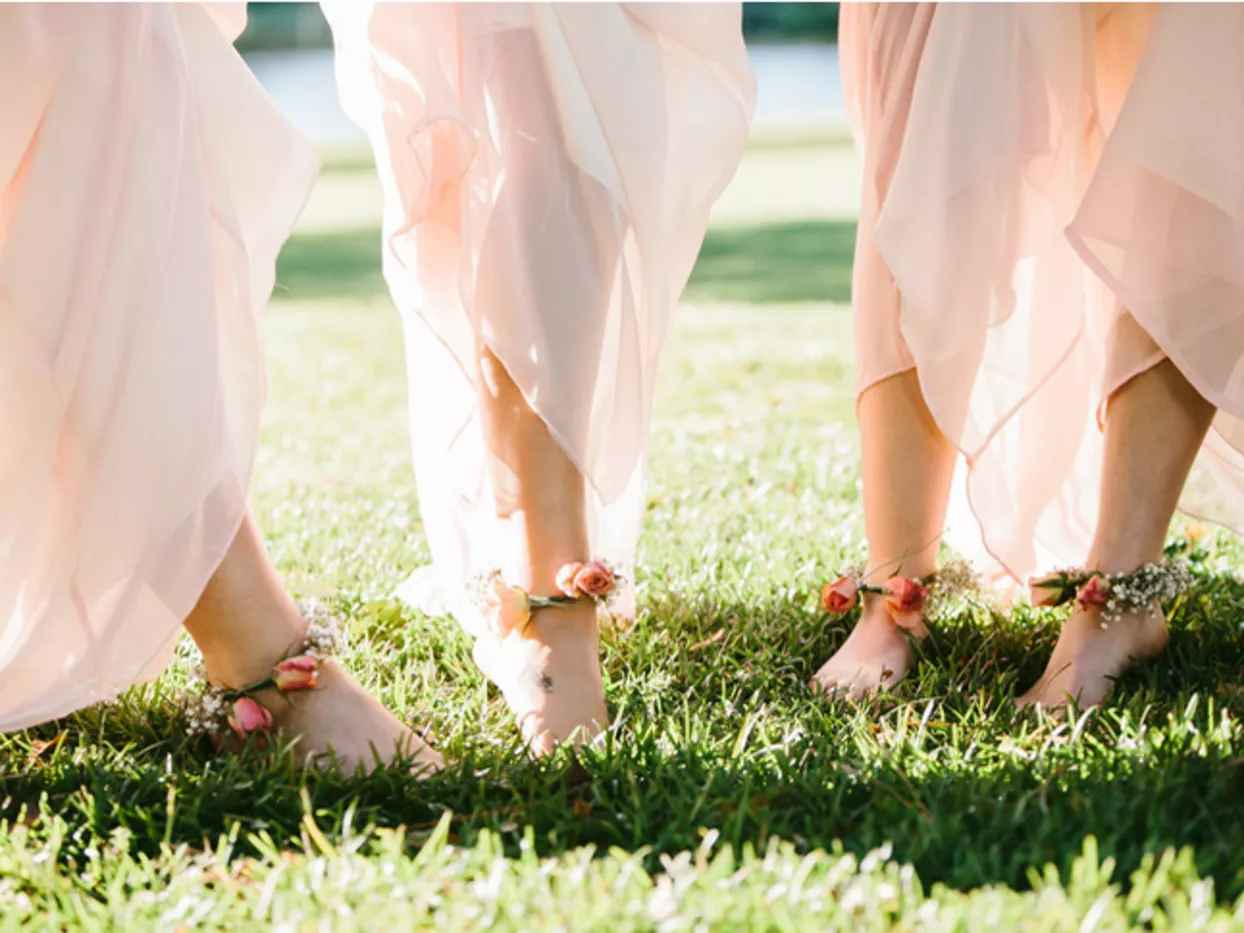 Barefoot Wedding Bridesmaids