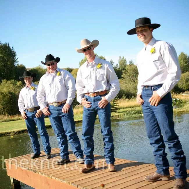 A Country Western Outdoor Wedding