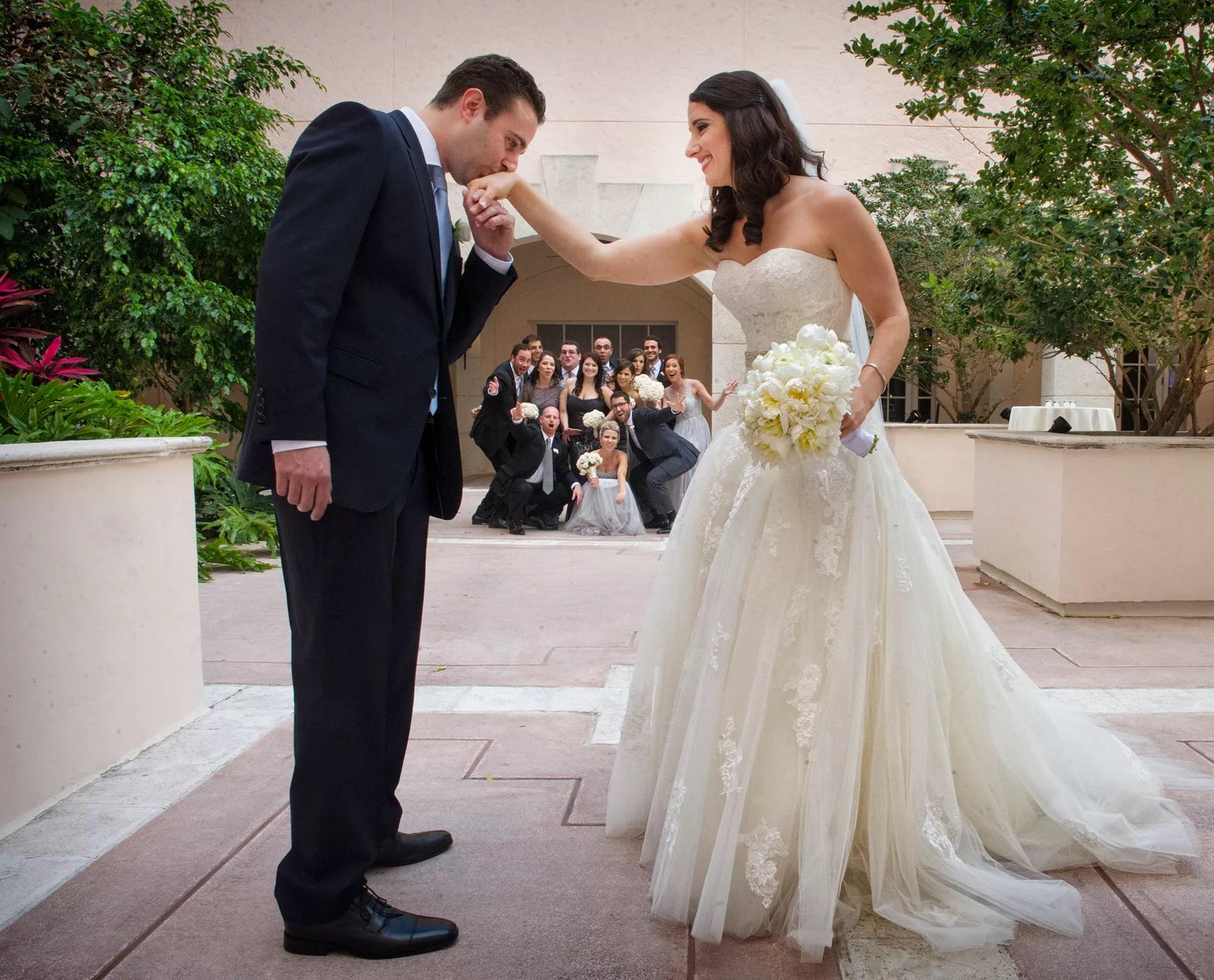 A Traditional Jewish Wedding at Hyatt Regency Coral Gables