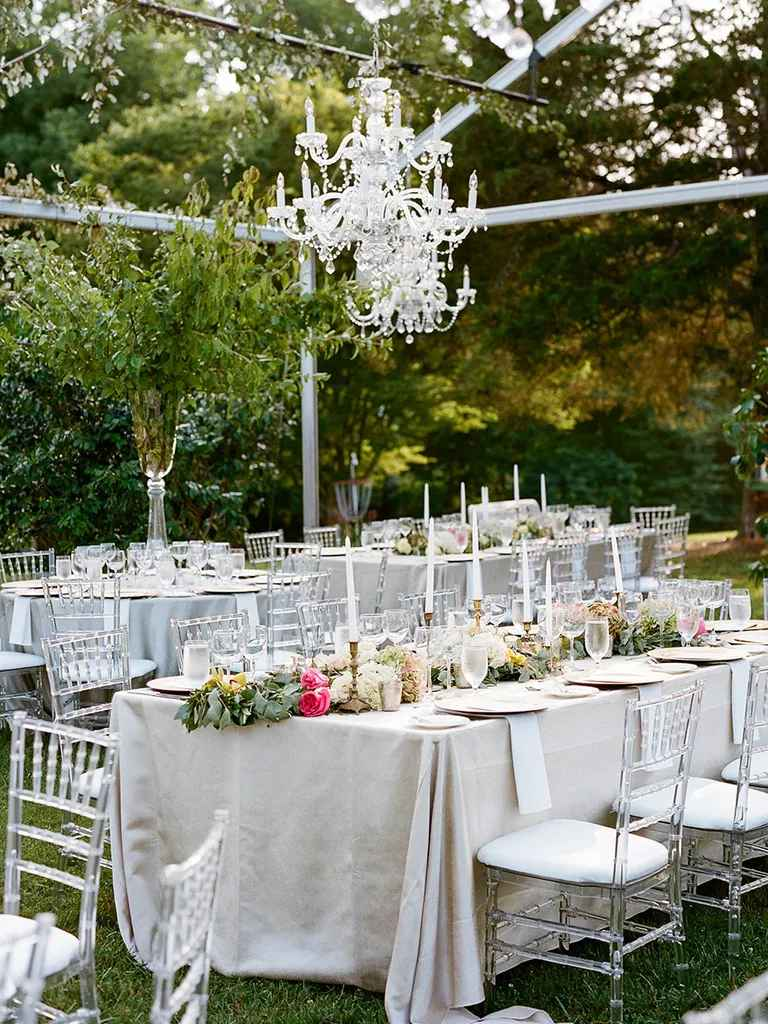 How to Decorate Every Type of Reception Table