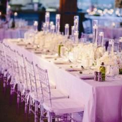 Clear Chiavari Chairs Wedding Reception Chair Covers Diy