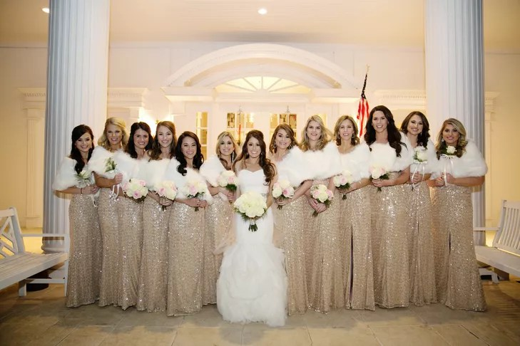 An Elegant New Year's Eve Wedding At Lone Star Mansion In