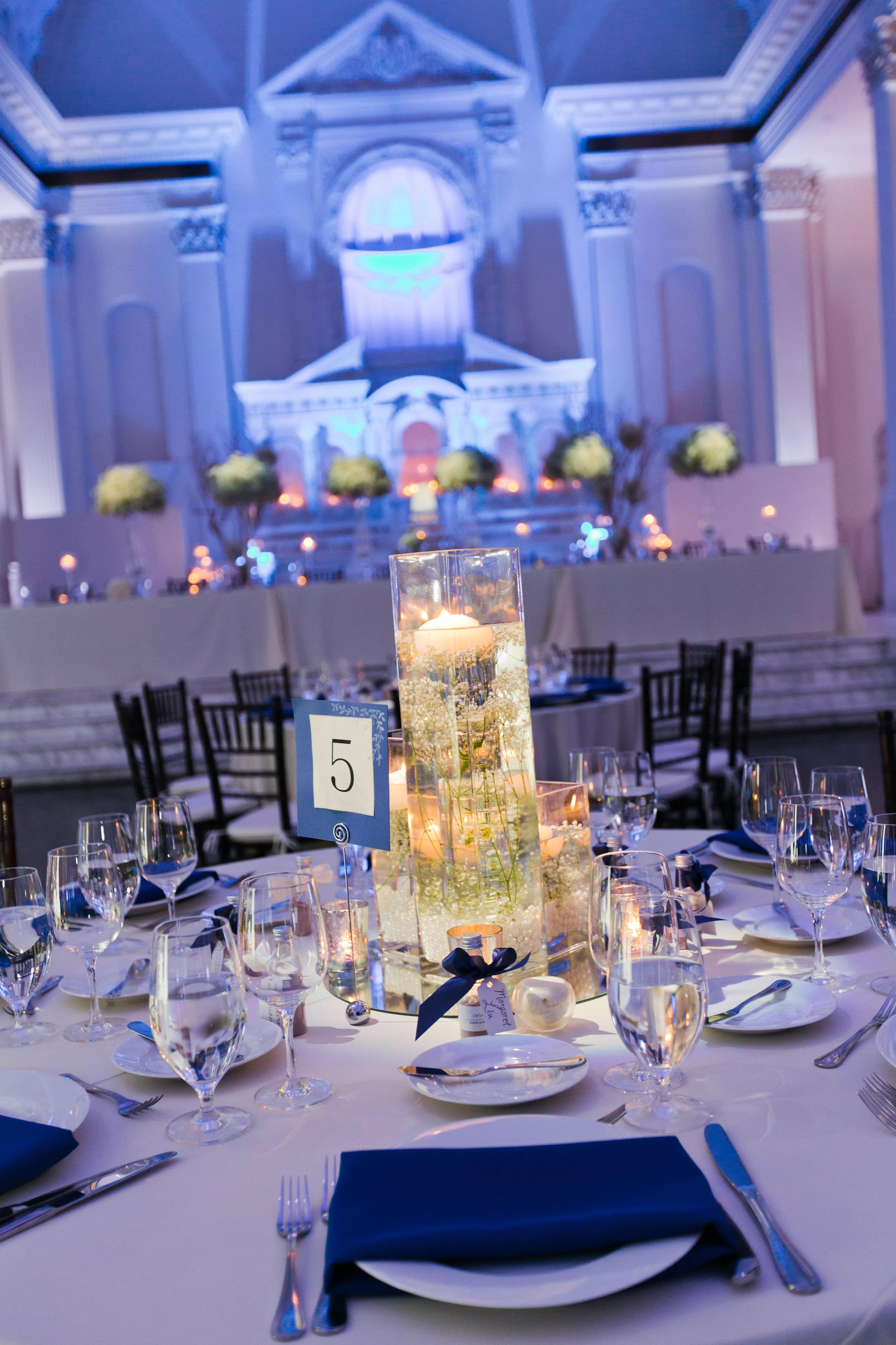 Blue Wedding Themes Ideas