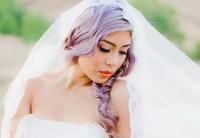 Purple Hair For Your Wedding Day? These Brides Did