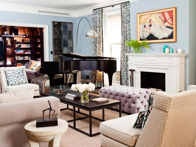living room decor styles wall tiles pictures how to mix modern and vintage style tricks