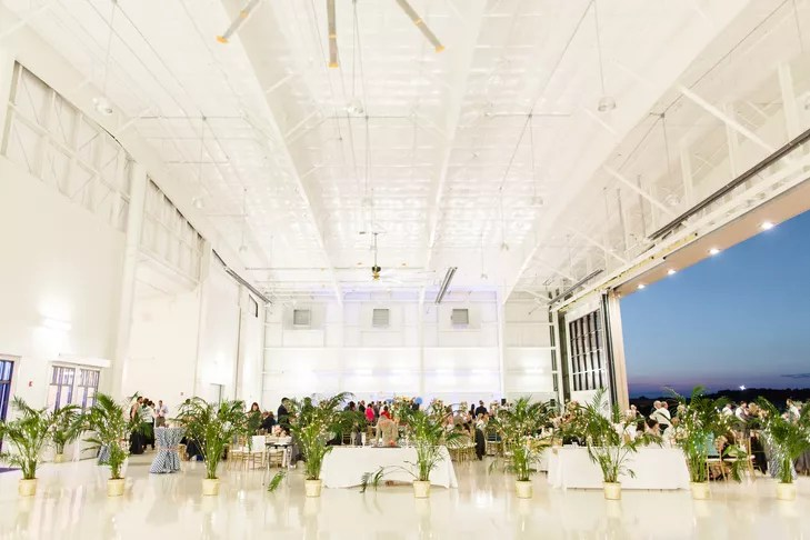 Airplane Hangar Reception Venue Georgia