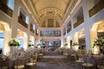 Glamorous Classic Hotel Ballroom Reception