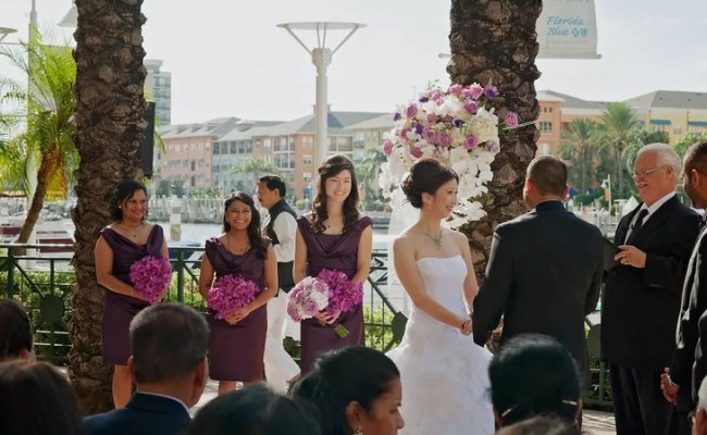 A Traditional Multicultural Wedding At Tampa Marriott