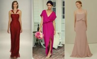 New Bridesmaid Dress Trends for Fall 2015 -- See the Photos