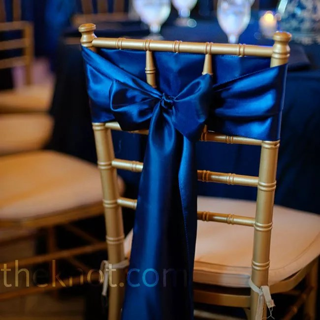 Cobalt Blue Chair