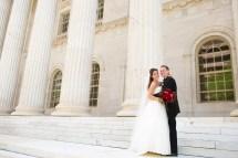 Classic Red Ballroom Wedding Grand Hyatt In Denver