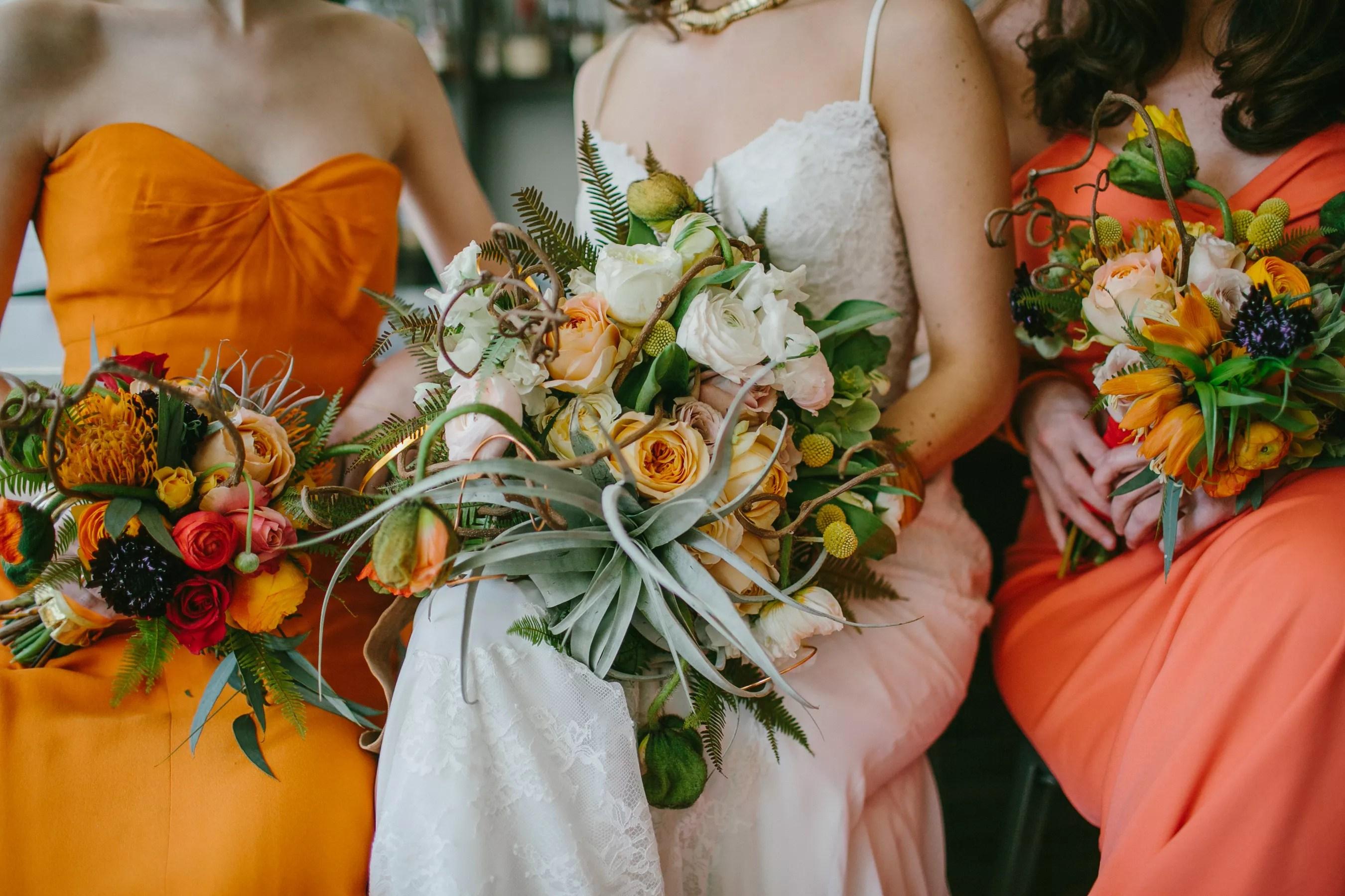 Fall Wedding Flower Arrangements From Portland Florists