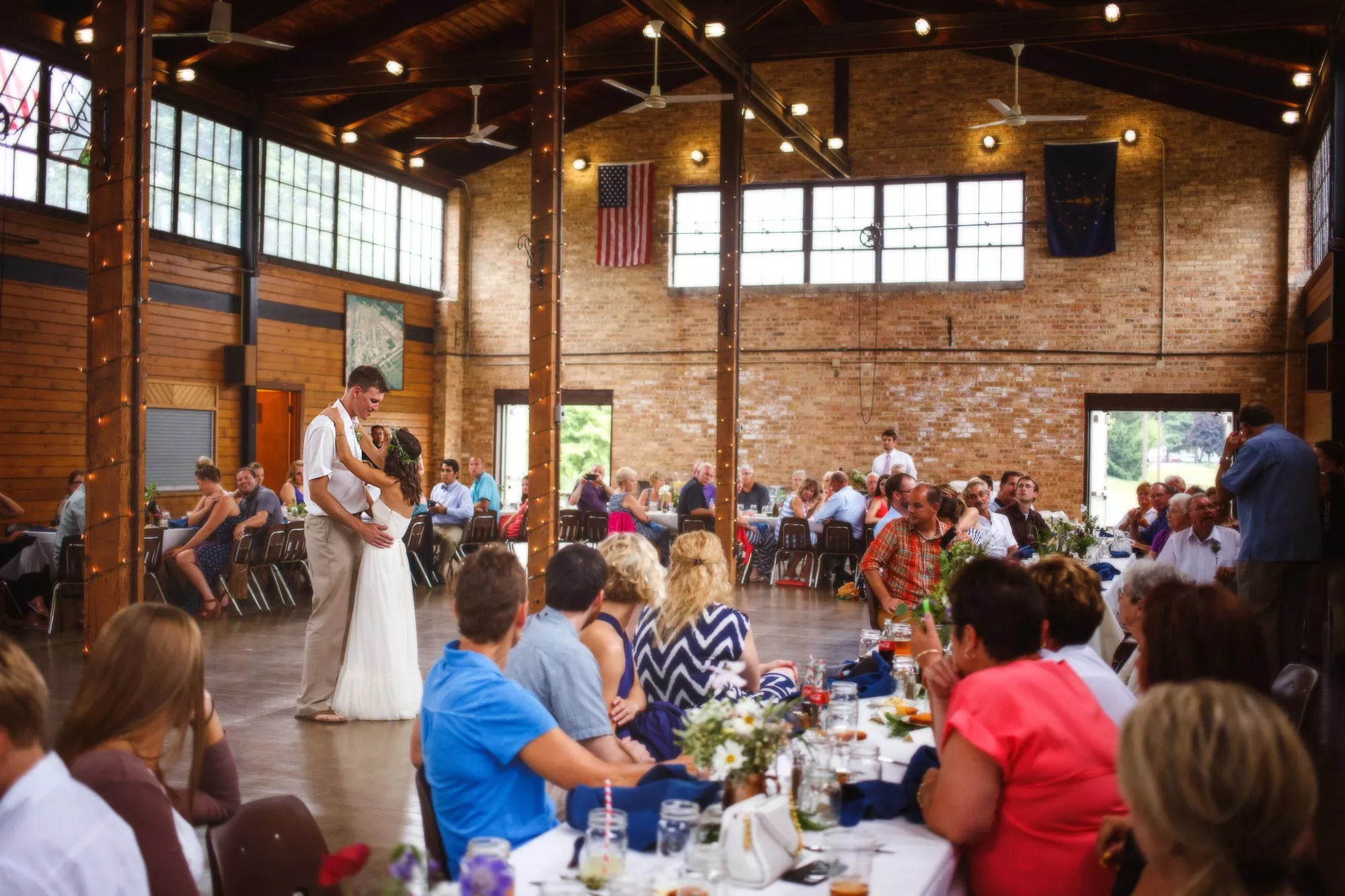 Rustic Reception At Butterfield Pavilion