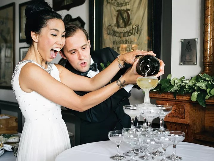 This Is How Many Newlyweds Actually Get Drunk at Their Wedding