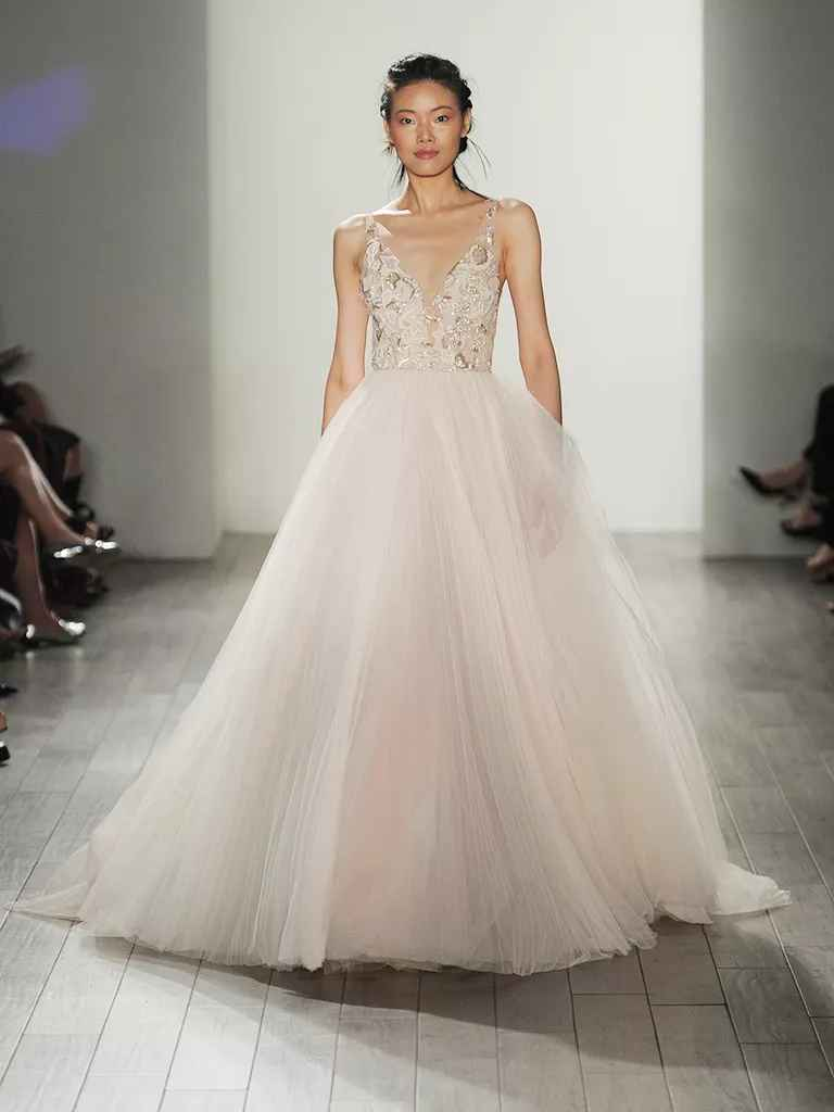 Lazaro Fall 2017 Collection Bridal Fashion Week Photos