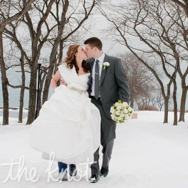 A Casual Winter Wedding in Chicago IL