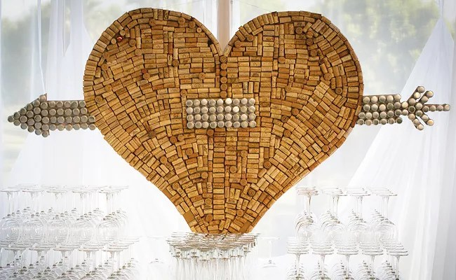 11 Ways To Turn Wine Corks Into Wedding Decor