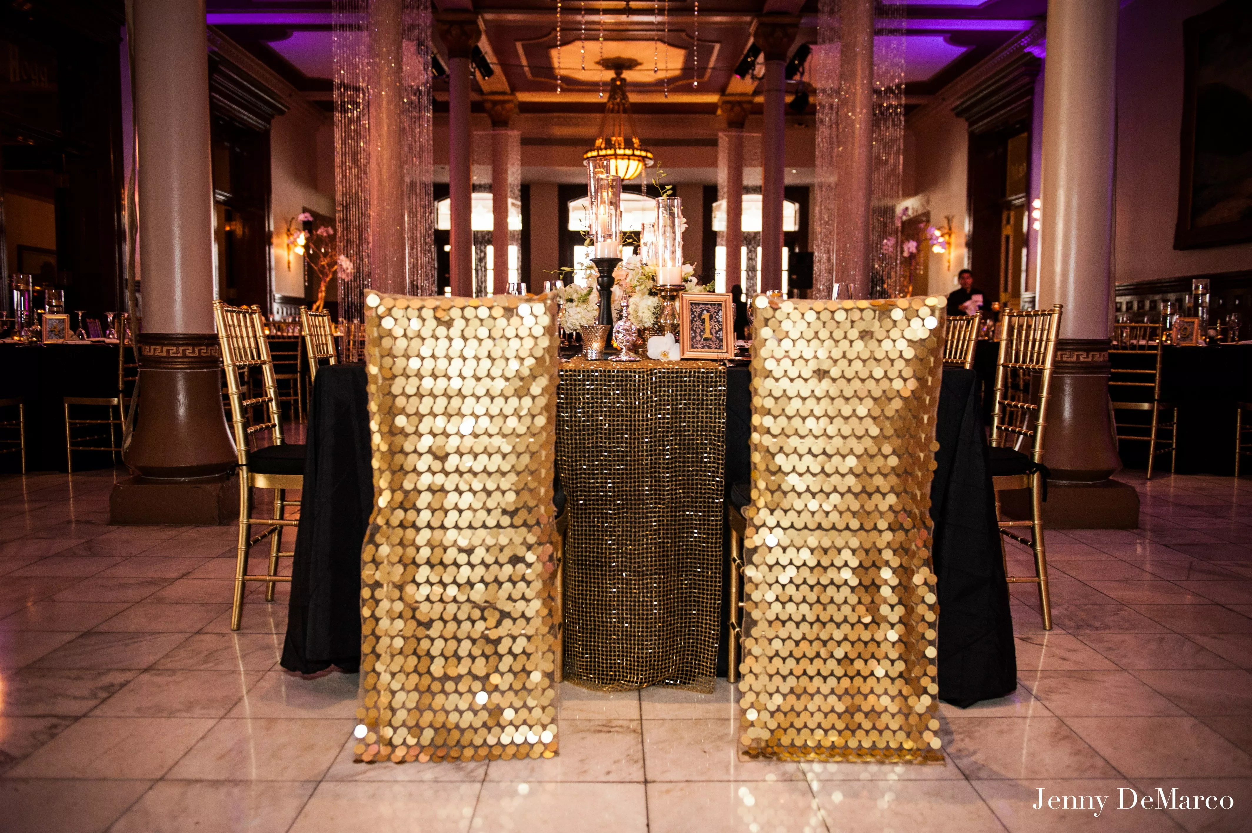 gold sequin chair covers chairs johannesburg sequined