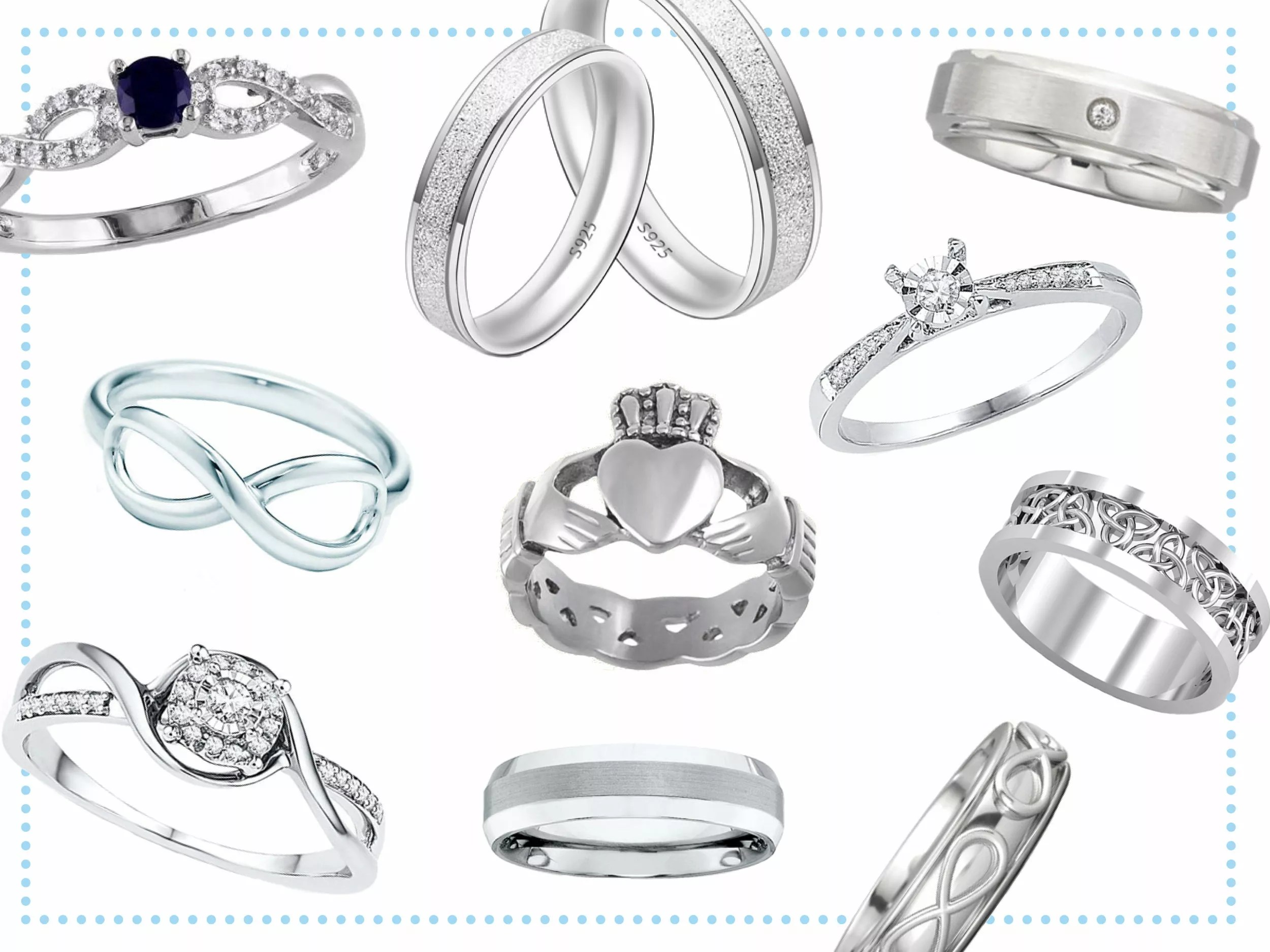 Promise Rings for Women, Men and Couples