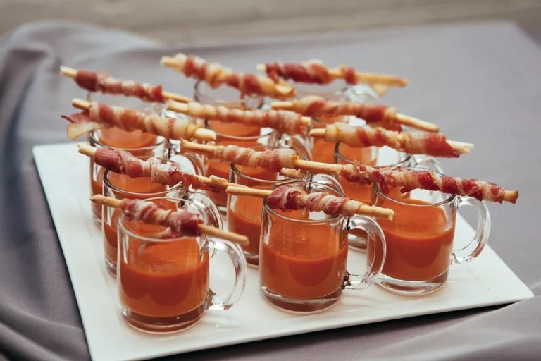 Winter Foods Wedding Ideas