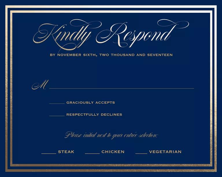 Proper Wedding Invitation Wording Examples