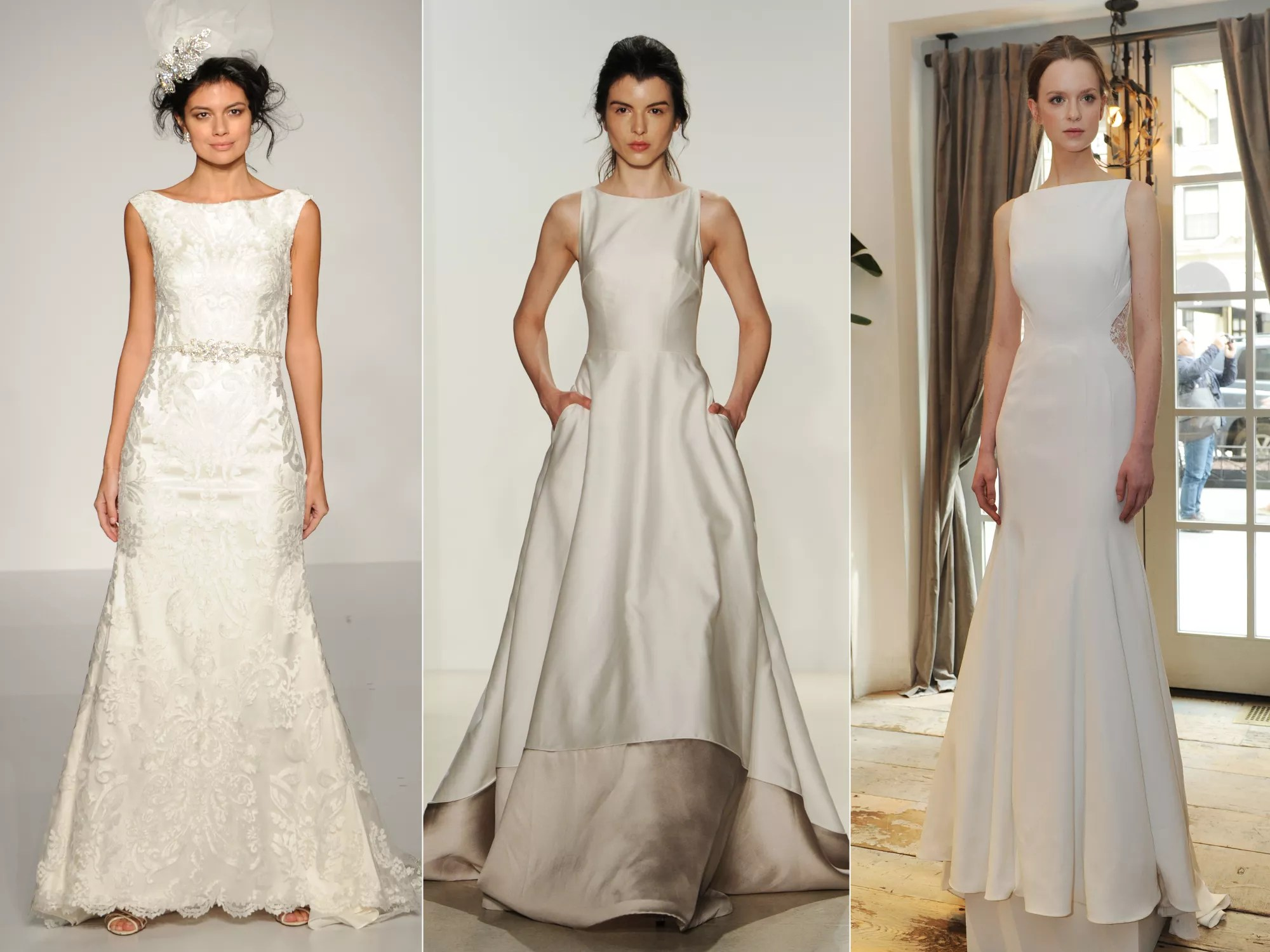 The Top Wedding Dress Trends from Spring 2016 Bridal