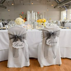 Wedding Bride And Groom Chairs Small Table Set Elegant Chair Signs