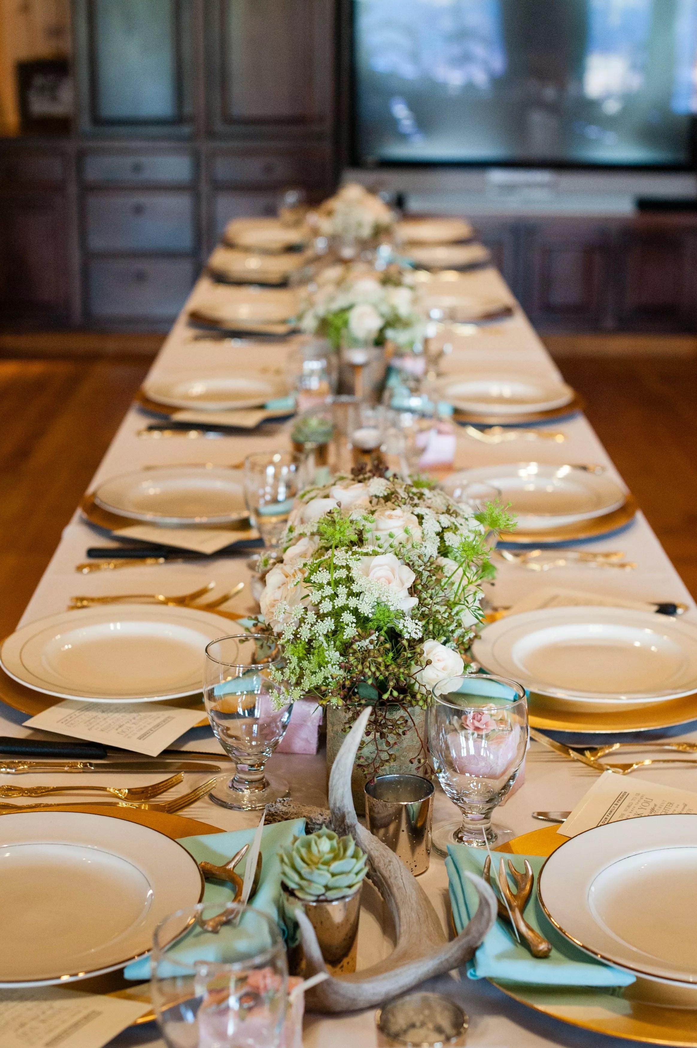 Rustic Green Wedding Invitations