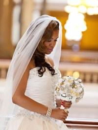 20 Wedding Hairstyles for Long Hair With Veils