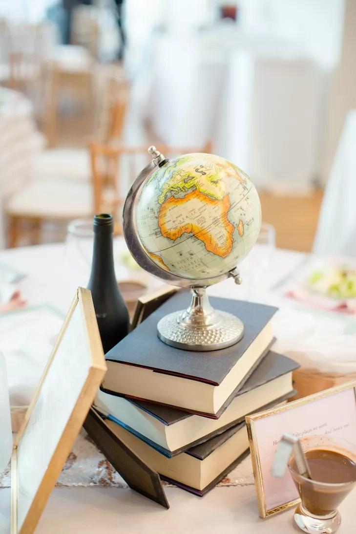 DIY Globe Centerpieces