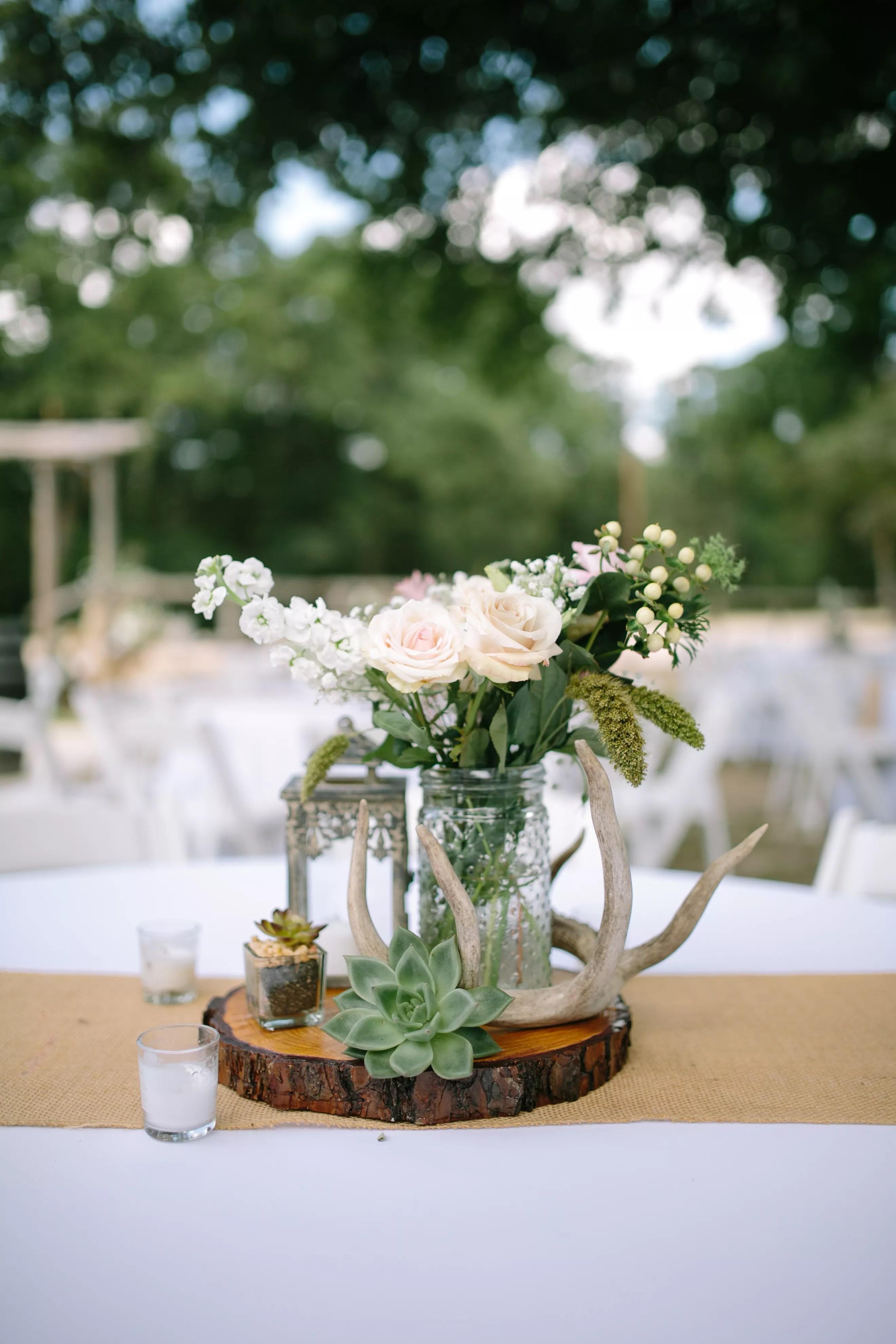 Antler Wedding Invitations