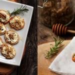 Tartines de chèvre chaud au miel et noix