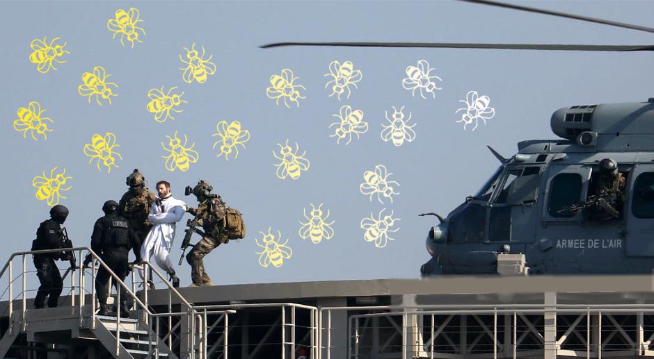 Le tournage de Mission Impossible presque annulé à cause des abeilles de Bercy (vidéo)