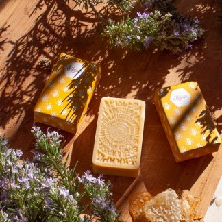 Organic honey and lavender soaps - Apis Cera
