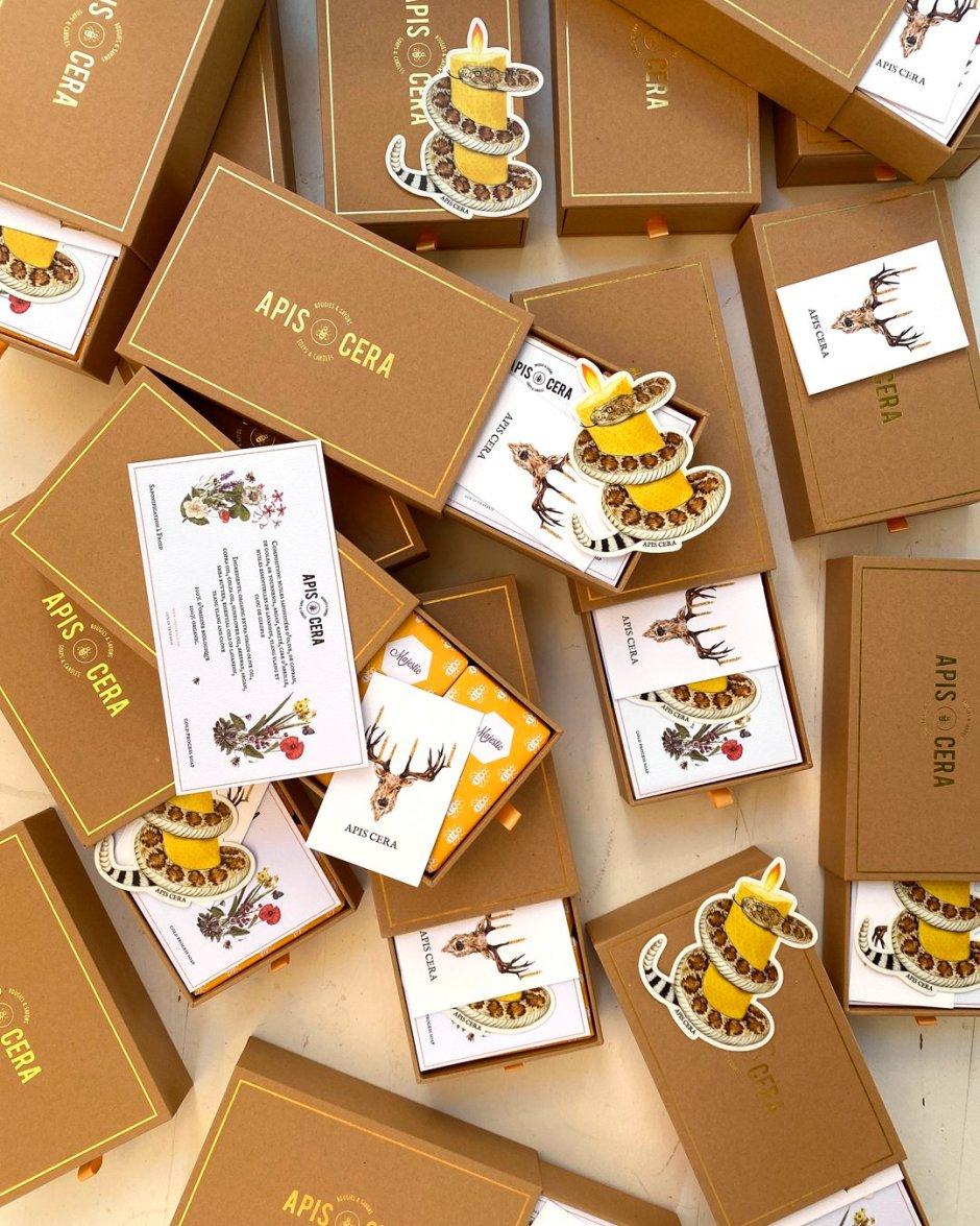 Organic honey and lavender soaps - Apis Cera