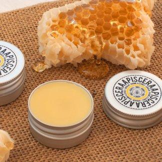 Baume à lèvres bio au miel et cire d'abeille - Ravissant