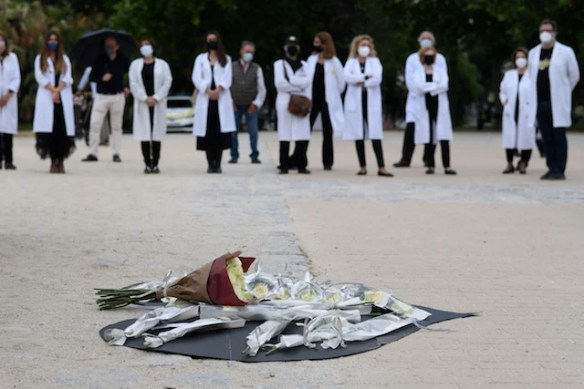 Deaths in Spain in 2020 spiked to highest level since 1941