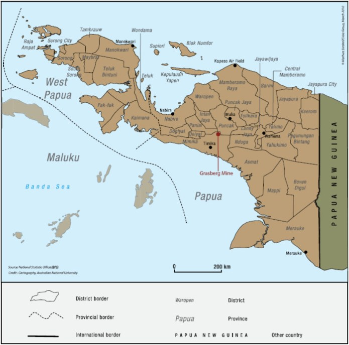 The Great Divide West Papuan Demographics Revisited Settlers Dominate Coastal Regions But The Highlands Still Overwhelmingly Papuan The Asia Pacific Journal Japan Focus
