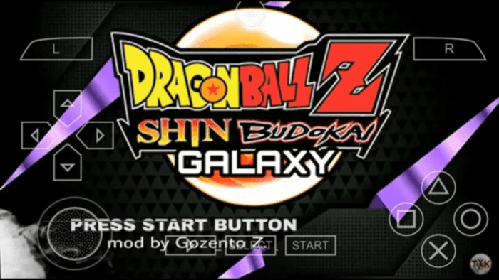 Dragon Ball Z Shin Budokai 2 Mod PSP ISO Download