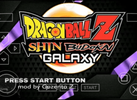 Dragon Ball Z Shin Budokai 2 Mod PSP ISO Download